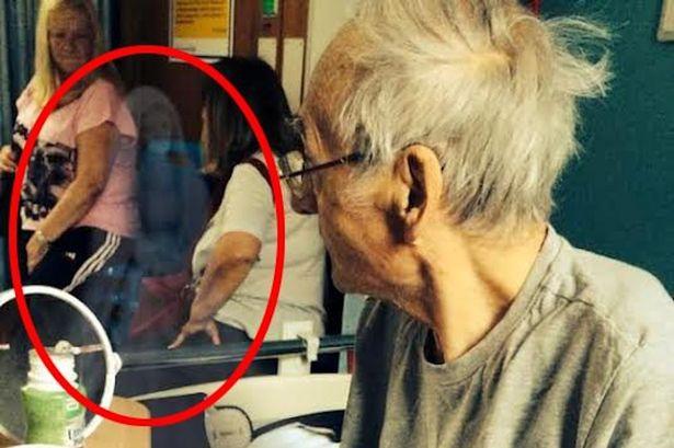 Fantasma aparece em foto e cura britânico no leito de morte! Verdadeiro ou falso? (foto: Reprodução)