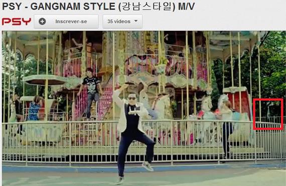 Vídeo da música Gangnam Style mostrando a Bandeira do Brasil! Será Verdade?