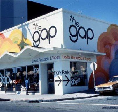 Primeira loja da GAP, em São Francisco! (Foto: Divulgação/GAP Inc.)