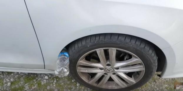 Cuidado com o novo golpe da garrafa vazia no pneu! Será?