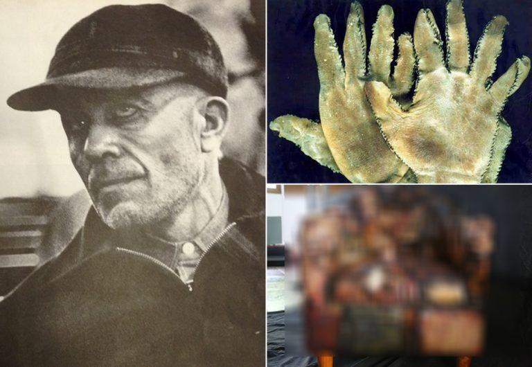 """Objetos atribuídos ao """"serial killer"""" Ed Gein são realmente feitos de pele humana?"""