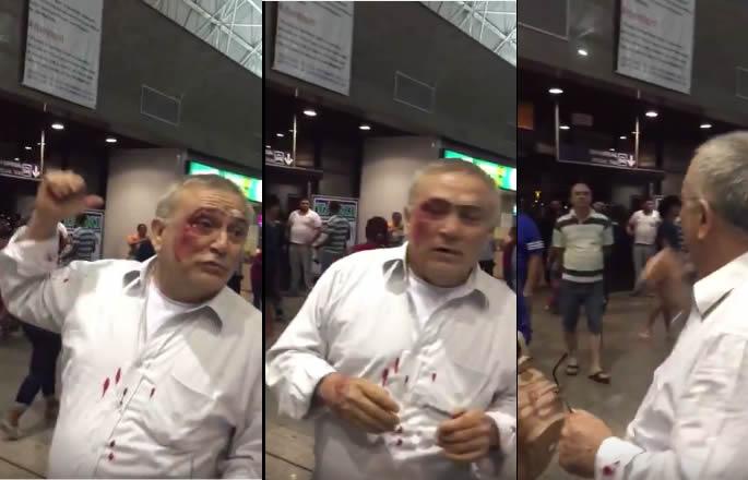 O Deputado Genecias Noronha apanhou no aeroporto de Fortaleza?