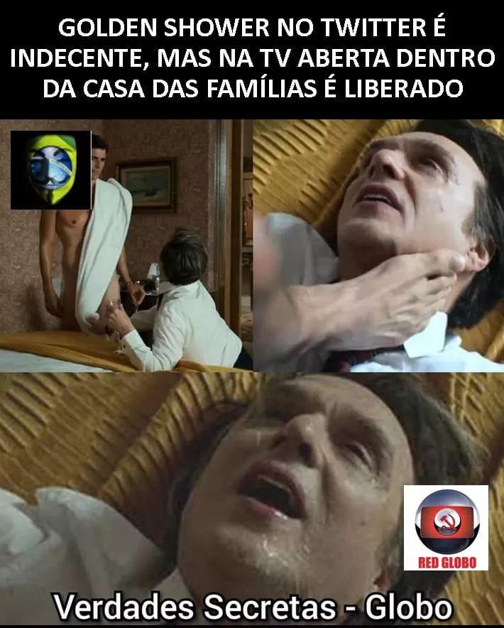 """A Rede Globo exibiu cena de """"golden shower"""" na novela Verdades Secretas?"""