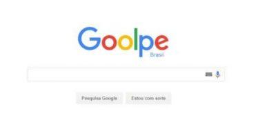 O Google teria mudado seu logotipo para Goolpe por algumas hora aqui no Brasil! Será verdade?