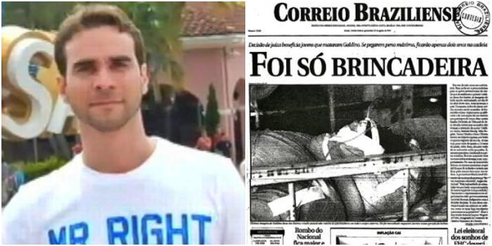 Um dos homens que queimaram indígena vivo ganhou cargo de confiança no governo Bolsonaro?