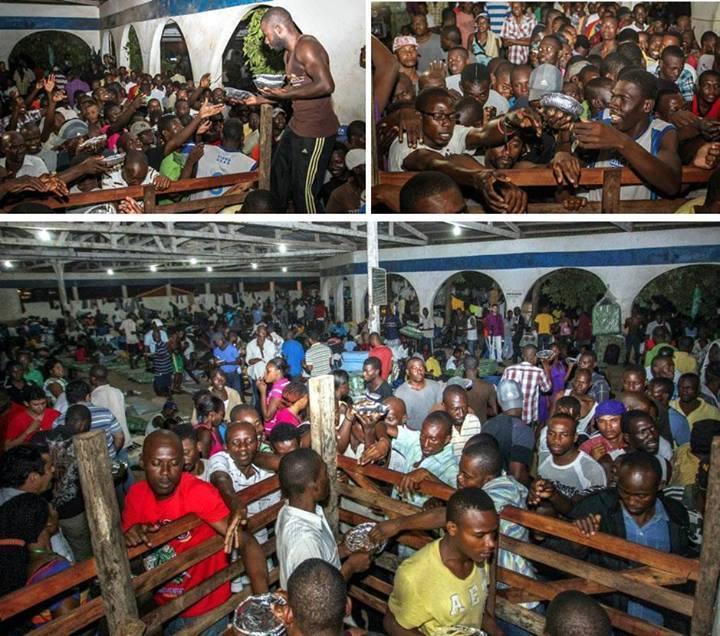 20.000 haitianos estariam invadindo o Brasil a mando do PT! Verdade ou farsa? (fotos: reprodução/Facebook)