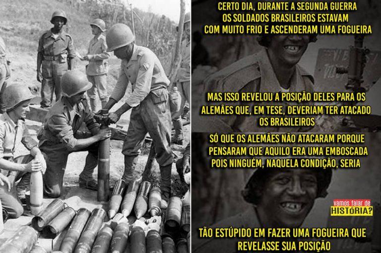 """Soldados brasileiros foram estúpidos e """"trollaram"""" os alemães na Segunda Guerra Mundial?"""