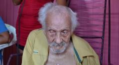 Seria esse o homem mais velho do mundo com 131 anos? (foto: Reprodução/Facebook)