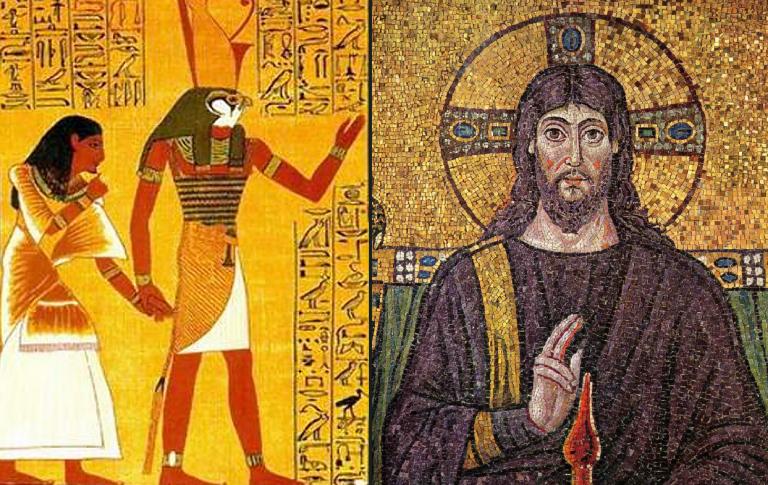 A história da vida de Jesus é uma cópia da mitologia de Hórus?