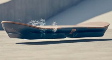 Lexus lança um skate voador! Será verdade? (foto: Divulgação)