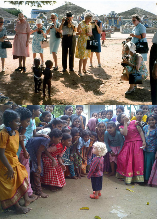 Human Fascination - negros e brancos