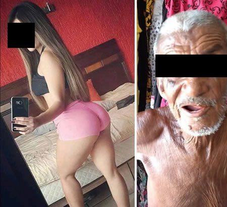 Um idoso ganhador da Mega Sena da Virada morreu sufocado na vagina da sua namorada?