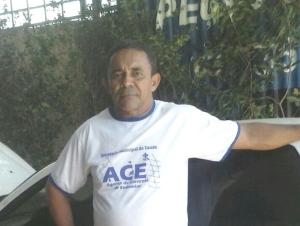 Esse é o Araújo, do bar do Araújo! (foto: Gleydsson /CBN Tocantins)