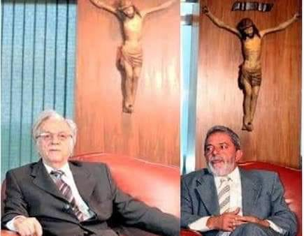 A Operação Lava Jato caiu numa fake news envolvendo Lula e um crucifixo!