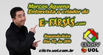 Criador do E-farsas.com ao vivo no Japa Pop Show na ClicTV UOL