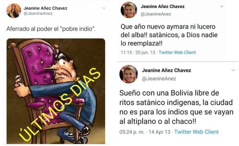 Tuítes atribuídos a Jeanine Añez são verdadeiros ou falsos?