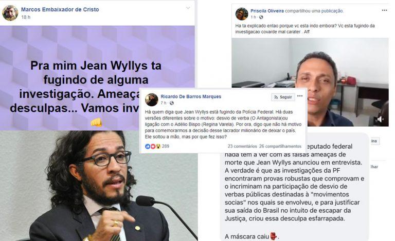 Jean Wyllys desistiu do mandato para fugir de investigação sobre desvio de verba?