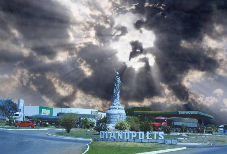 Rosto de Jesus aparece nas nuvens no Tocantins! Será verdade?