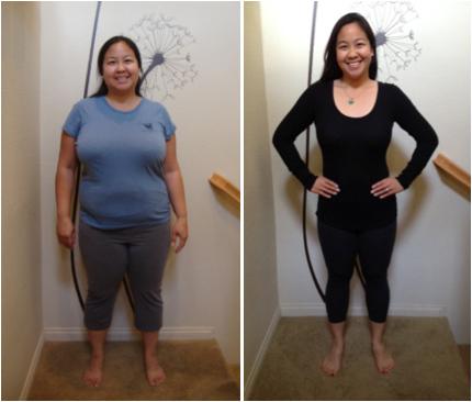 Juliana Diniz é, na verdade, a amricana Clara Osborn e emagreceu com exercícios e um a dieta equilibrada. Nunca consumiu o extrato de goji! (foto: Reprodução/)