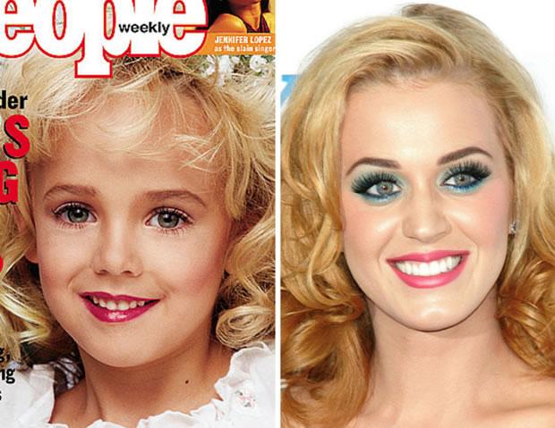 Katy Perry é uma menina que foi morta nos anos 90?