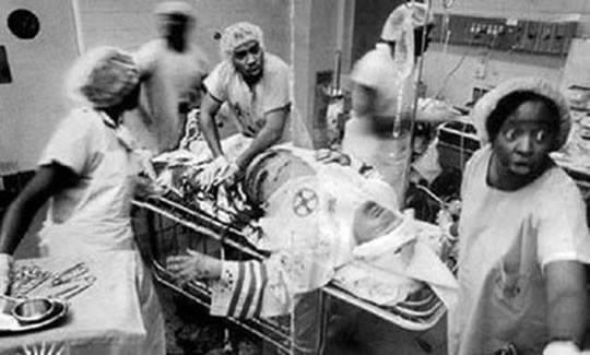 Médicos negros salvam um membro da KKK em Geórgia! Será verdade? (foto: Reprodução/Facebook)