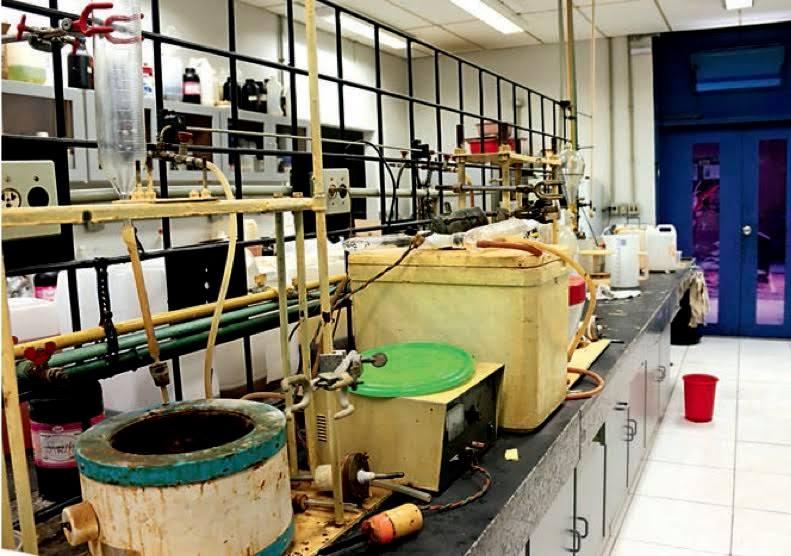 Laboratório de Química de São Carlos não possui instalações para a fabricação de remédio! (foto: Reprodução/Jornal da USP)