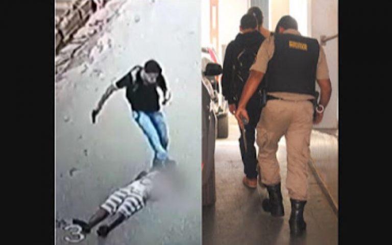 A Comissão dos Direitos Humanos mandou prender o jovem que agrediu assaltante em MG?