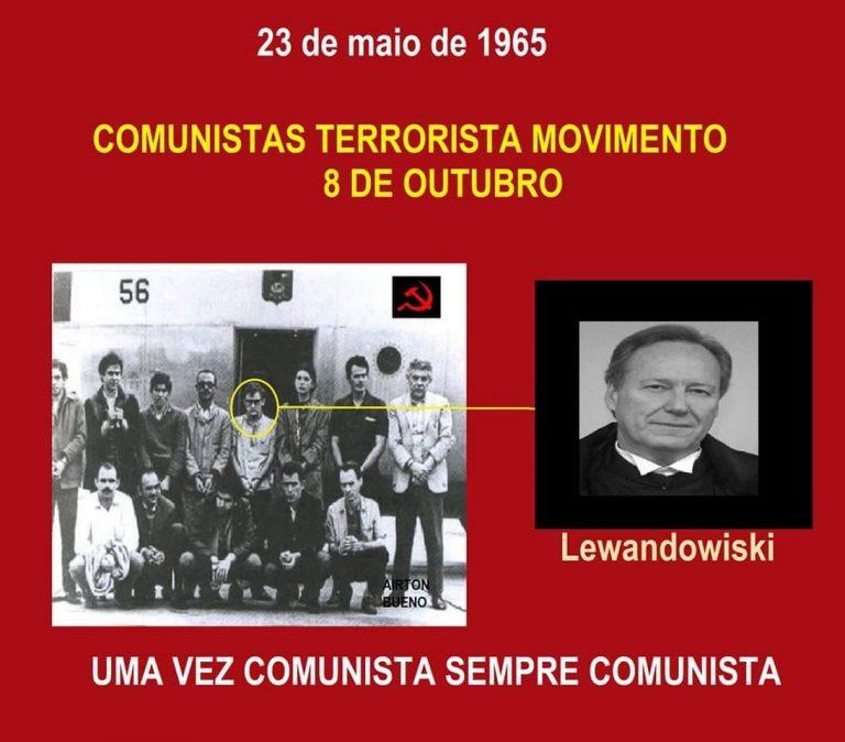 Foto mostra que Lewandowski participou de movimento terrorista em 1965! Será?