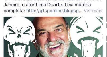 Ator Lima Duarte morre aos 86 anos de idade! Será verdade? (foto: Reprodução/Instagram)