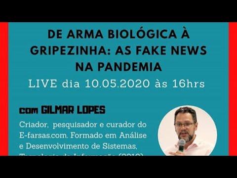 De arma biológica à gripezinha: As fake news na pandemia!
