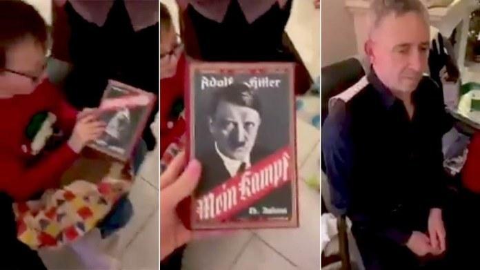 """Um menino pediu o Minecraft para o avô, mas ganhou de natal o livro """"Mein Kampf""""! Será verdade?"""