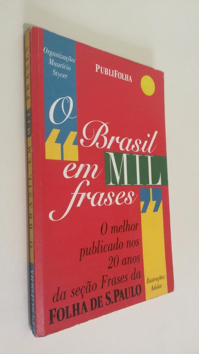 """Livro """"O Brasil em Mil Frases"""", de"""