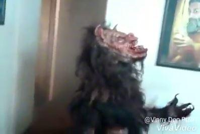 Vídeo mostra um lobisomem capturado no sítio Maniçoba! Será verdade?