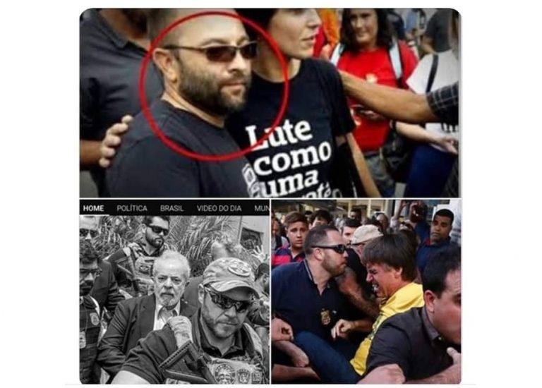 Homem que provocou Manuela d'Ávila é o policial que escoltou o ex-presidente Lula?