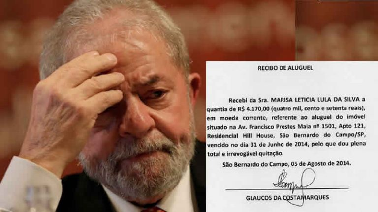 Lula apresentou recibos de aluguel com erros para o juiz Moro?