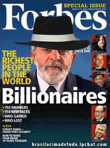 Lula na capa da Forbes!