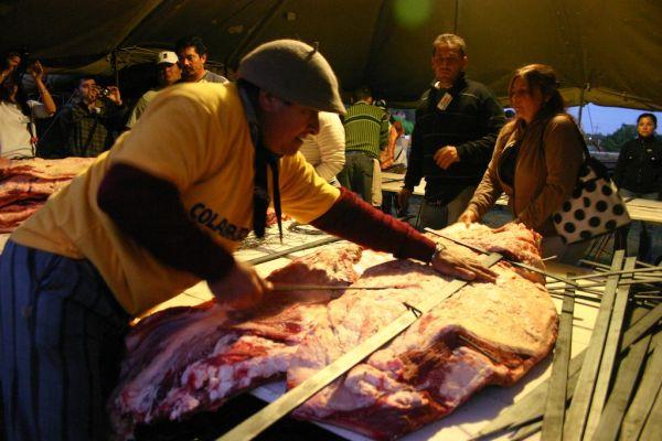 Maior churrasco do mundo na Argentina 3