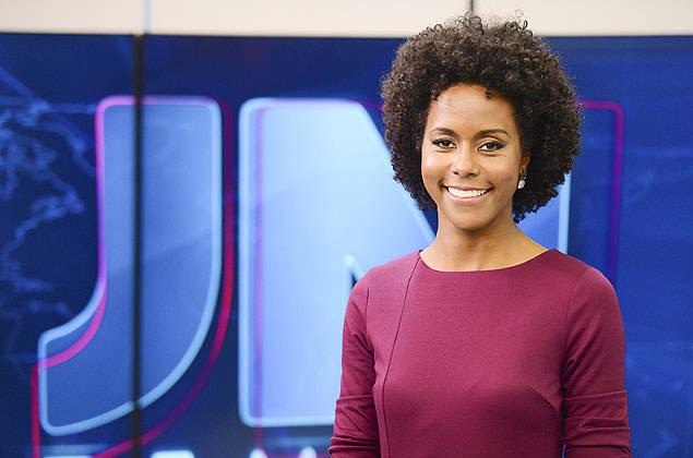 Maju Coutinho foi a primeira negra a apresentar o Jornal Nacional?