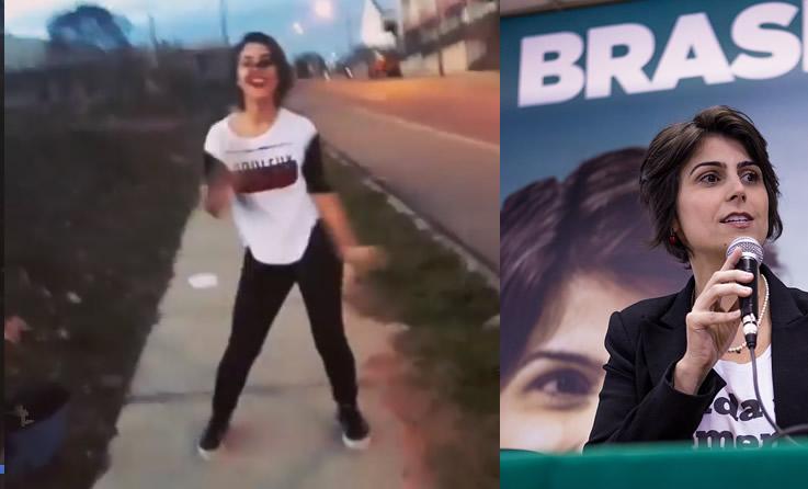 Manuela d'Ávila aparece em vídeo dançando funk na rua! Será verdade?
