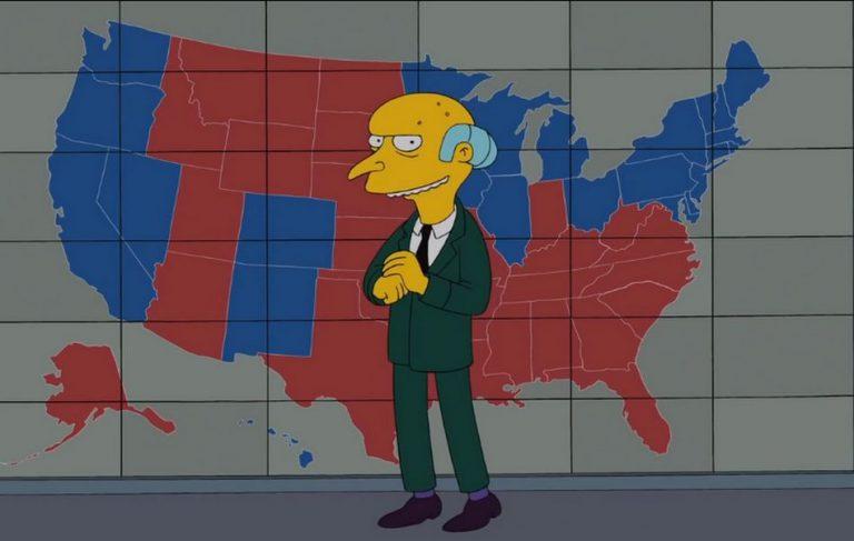 Os Simpsons previram a vitória de Joe Biden nas Eleições de 2020?