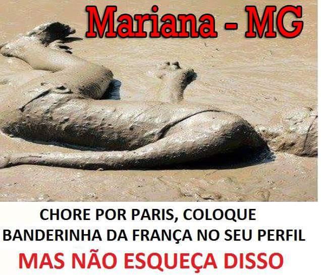 Seria essa uma das vítimas da tragédia ocorrida em Mariana? (foto: Reprodução/Twitter)