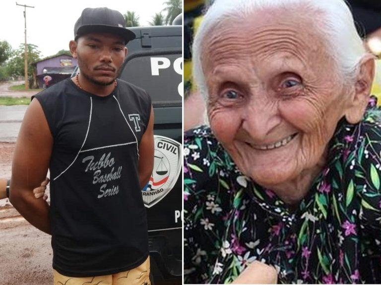 Um juiz mandou soltar o bandido que matou idosa de 106 anos a pauladas?