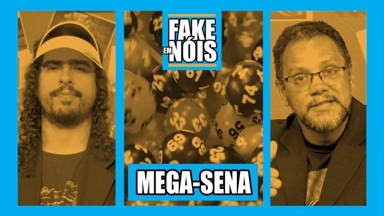 Caiu a casa da Mega Sena: Fake em Nóis sobre essa loteria!
