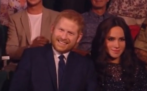Meghan Markle e o príncipe Harry são robôs?