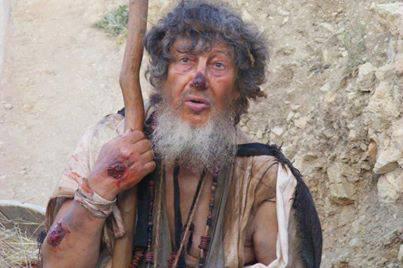 Joaquim Vieira Basílio interpreta há anos o papel de Mendigo em Portugal! (foto: Daniela Margarida dos Santos Martins)