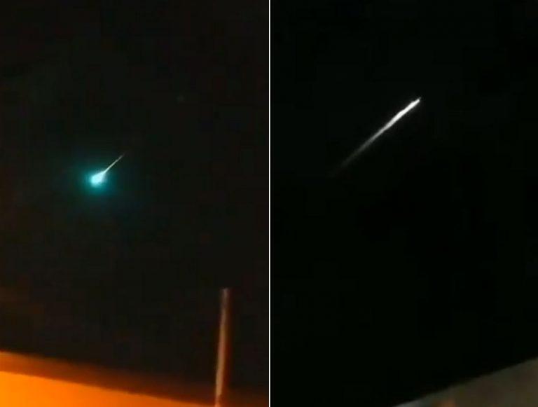 Vídeos mostram um meteorito que teria caído em Tamaulipas, no México?
