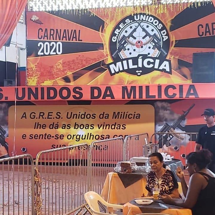 O Carnaval no Rio de Janeiro terá uma escola chamada Unidos da Milícia?