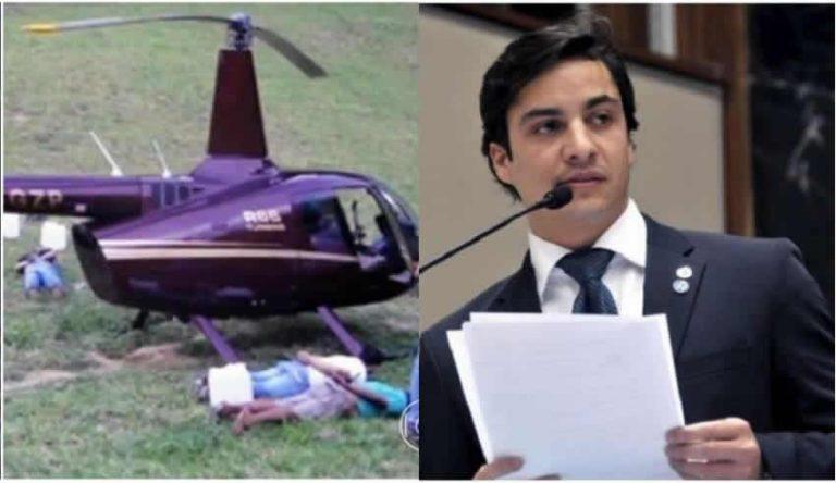 Gustavo Perrella, do helicóptero com cocaína, foi nomeado para o Ministério do Esporte de Bolsonaro?