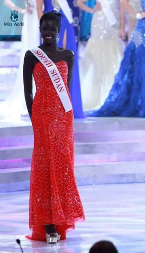 A primeira Miss Mundo negra é do Sudão do Sul! Será? (foto: Reprodução/facebook)