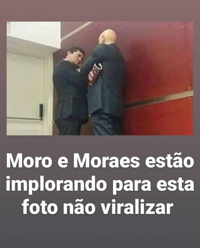 O ex-ministro Sérgio Moro foi flagrado conversando com o ministro do STF Alexandre de Moraes?